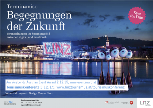 Terminaviso_Tourismuskonferenz 2015